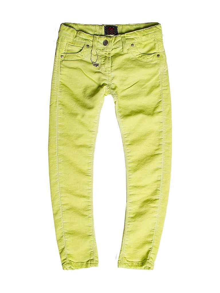 717 - Vert 2-3 ans (hauteur  92 cm) voiturerera Jeans - Jogger Jeans 788 pour Fille, Style Droit, Couleur Unie, Tissu Extensible, Taille Skinny