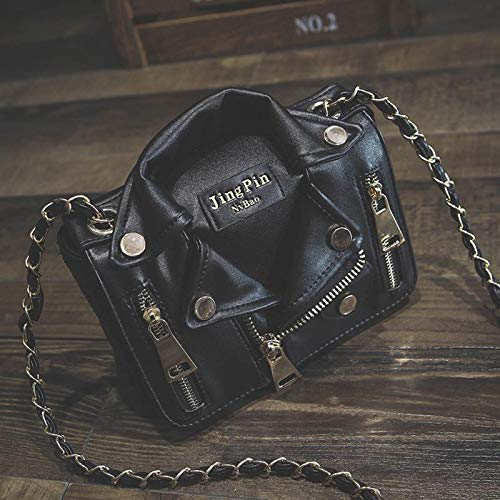 9e7a352c84 Designer Women Messenger Bags Black Jacket Bag Handbags Pink Shoulder Chain  Crossbody Sac A Main Femme De Marque: Amazon.ca: Shoes & Handbags