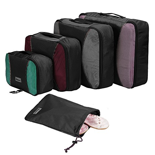 4 Piece Set Packing Cubes with Laundry B...