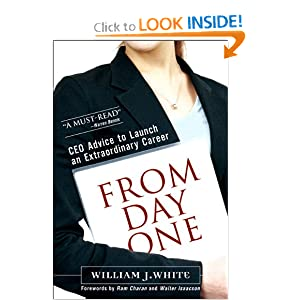 From Day One: CEO Advice to Launch an Extraordinary Career (paperback)