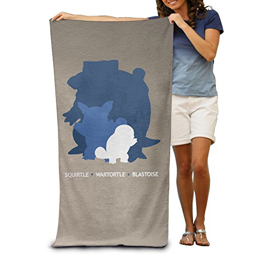 LCYC Pokemon Blastoise Squirtle Wartortle Adult Colorful Beach Or Pool Bath Towel 80cm*130cm (Control Ps3 Original compare prices)
