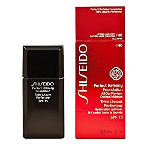 shiseido perfect refining foundation i40. Black Bedroom Furniture Sets. Home Design Ideas