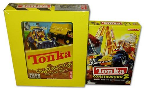 (Tonka Contruction PC Play Pack with Truck Toy and Construction 2)