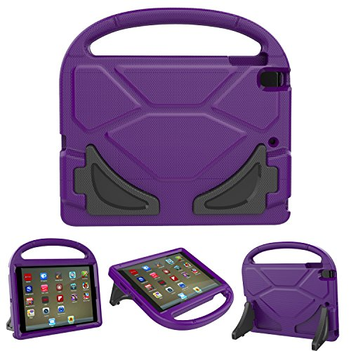 (Roasan New iPad 9.7 2018/2017 Kids Case -Shockproof Childproof Lightweight With Screen Protection Handle Stand Tablet Case for 6th / 5th Generation & iPad 9.7