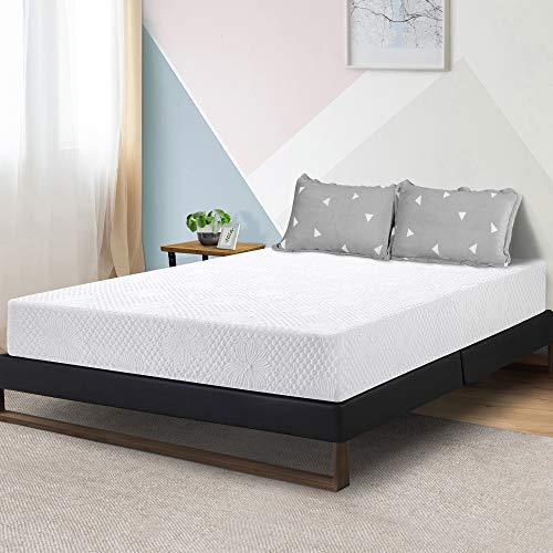 Olee Sleep 8-Inch Firm Ventilated Convolution Queen Memory Foam Mattress (OLR08FM01Q)
