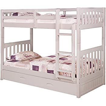 Amazon Com Cambridge 98922tttr Wh Brae Burn Bunk Bed With