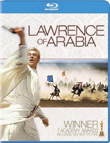 Blu-ray : Lawrence of Arabia (Ultraviolet Digital Copy, Restored, Widescreen, Dolby, AC-3)