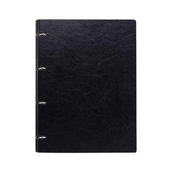 SADFGH Creative Hoja Suelta Cuaderno Cuero A4 A5 Business ...