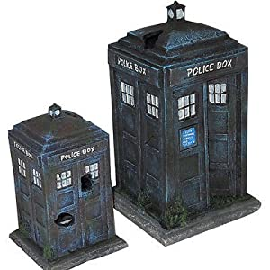 Police Box Aquarium Ornament
