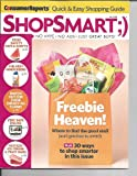 Consumer Reports ShopSmart July 2012: (Focus) Freebie Heaven; Best Sunscreens; Food Safety; Sneaky Ad Claims; Safety Online + More