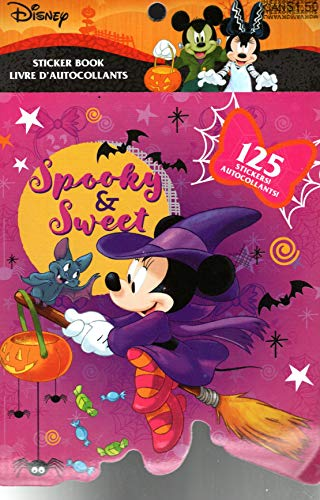 Disney Minnie Mouse Stickers Book - 125 Stickers - Halloween -