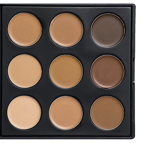 Morphe - 9FW Color Warm Foundation - Warm Colors Toned Skin