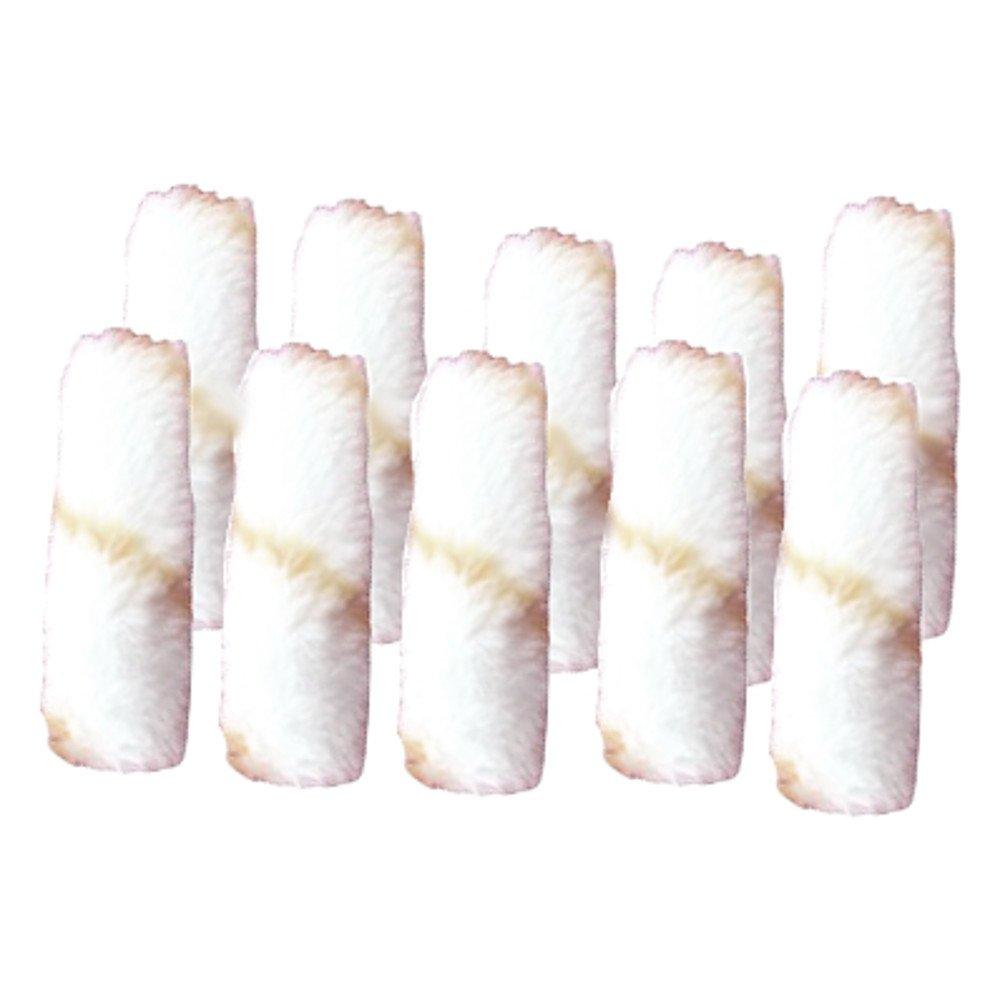 4'' X 3/8'' Nap Woven Paint Roller Refills (Pack of 10)