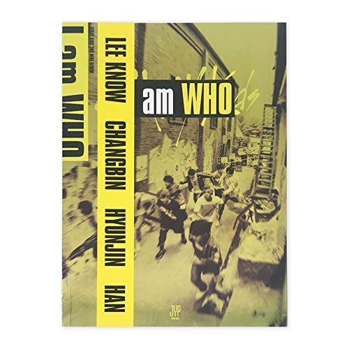 STRAY KIDS 2nd Mini Album - I am who [ WHO Ver. ] CD + Photobook + Photocard + Lyrics Poster + FREE GIFT