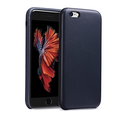 GMYLE Aniline Leather Apple iPhone