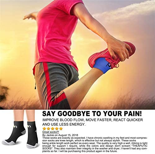 着圧ソックス (3/6/7足) 男女兼用 スポーツ足底筋膜炎 土踏まずサポート ローカット ランニング ジム 圧縮足