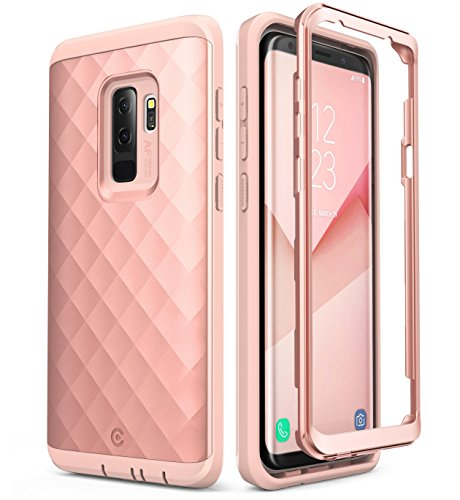 Clayco Samsung Galaxy S9+ Plus Case, [Hera Series] Full-Body Rugged Case Without Screen Protector for Samsung Galaxy S9+ Plus (2018 Release) (Rosegold)