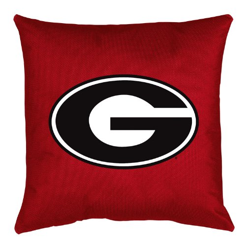 Sports Coverage NCAA Georgia Bulldogs Locker Room Pillow (Locker Room Bulldogs Bed)