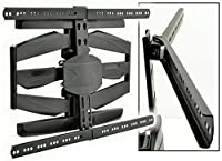 AVL22 - FULL MOTION TV WALL BRACKET FOR CURVED OR FLAT SCREENS ANGLE...