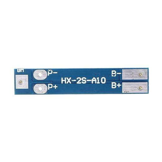2S 7.4V 8A Li-ion 18650 cargador de batería de litio BMS PCM ...