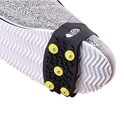 1Paire de crampons réglables pour toute taille et toute Chaussure