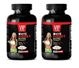 appetite suppressant fat burning for weight loss - WHITE KIDNEY BEANS EXTRACT - weight loss pills for women that work fast - 2 Bottles 120 Capsules