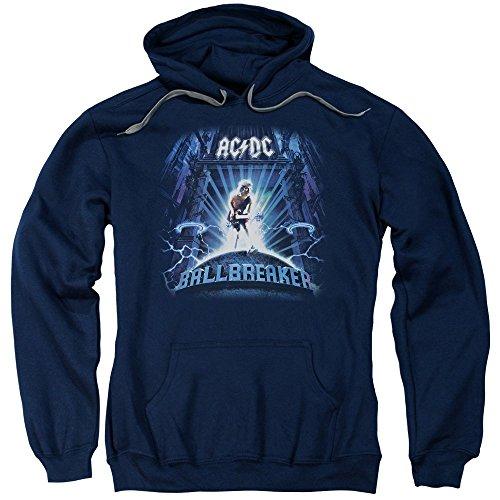 - AC/DC - Ballbreaker - Adult Hoodie Fleece Sweatshirt - XL