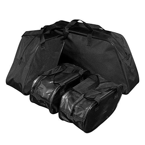 Senkauto 4 Piece Saddlebag Packing Cube Liner Set For Harley Davidson FLH Touring 1996-2013