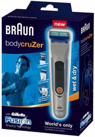 Braun - Afeitadora corporal Braun Body cruZer B35 (10 h): Amazon ...