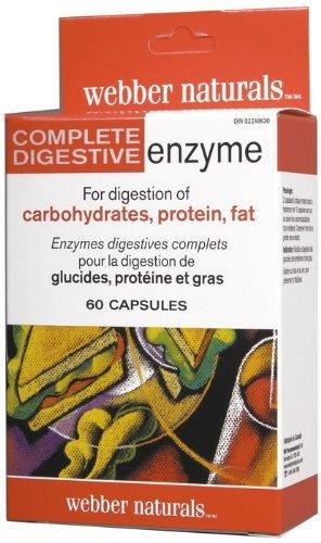 Amazon.com: Webber Naturals completa las enzimas digestivas ...