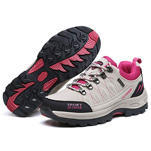 Gray Light Men Running Trailing FREAHAP Shoes R Women Trekking Shoes Outdoor Sneakers Hiking awp1Aqf