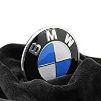 BMW Emblem Logo Replacement for Hood/Trunk 82mm for ALL Models BMW E30 E36 E46 E34 E39 E60 E65 E38 X3 X5 X6 3 4 5 6 7 8 by Roberly