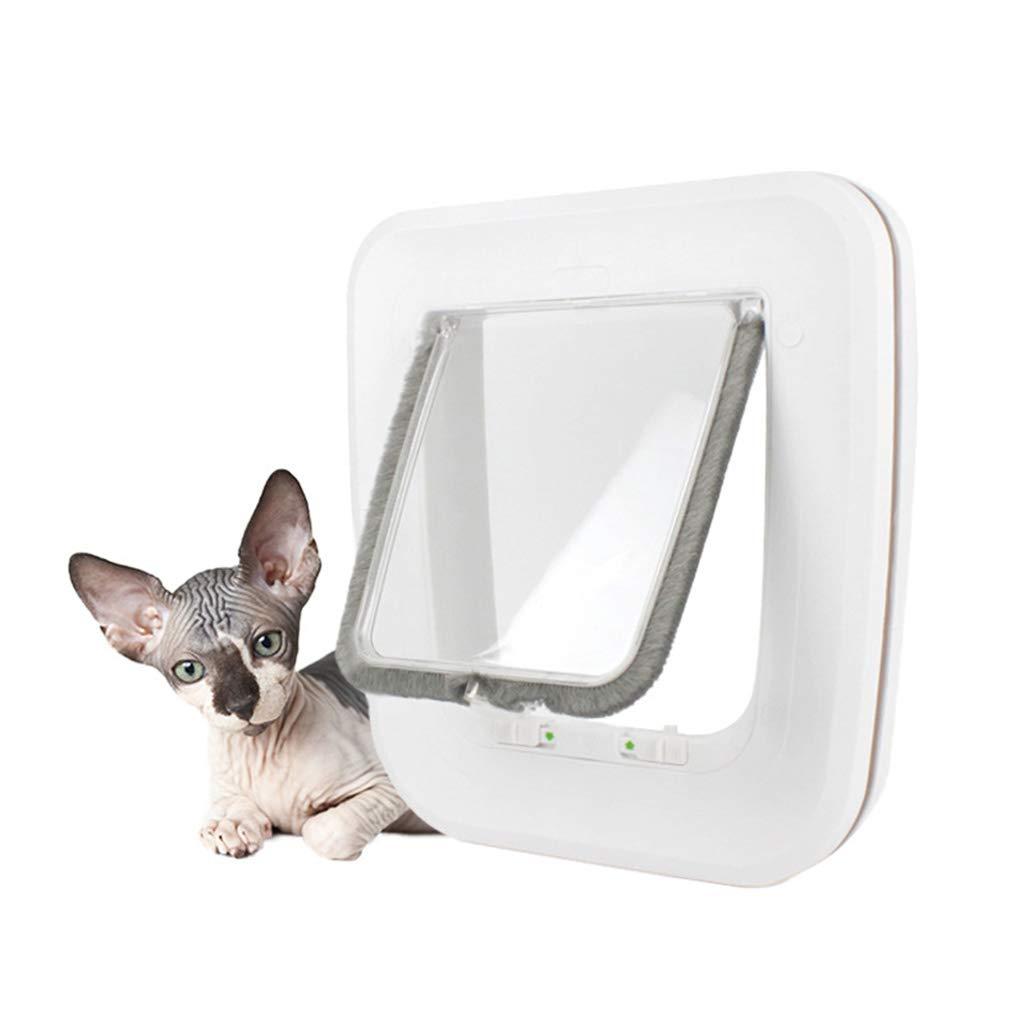 EAPTS Cat Door for Pets for Interior Doors & Exterior Doors, Wall or Hidden Cat by EAPTS