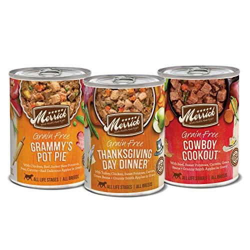Merrick Grain Free Favorites Recipes Variety Pack Wet Dog Food