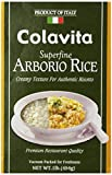 Colavita Superfine Arborio Rice, 1 lb (Pack of 12)