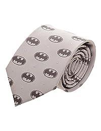 DC Comics Men's Batman Monochromatic Neck Tie