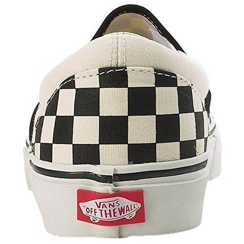 Vans Classic Slip-On VEYEBWW - Zapatillas clásicas de tela unisex Blanco