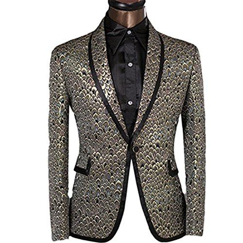 Vazpue Suits 2016 XS-6XL Slim Fit Blazer Men