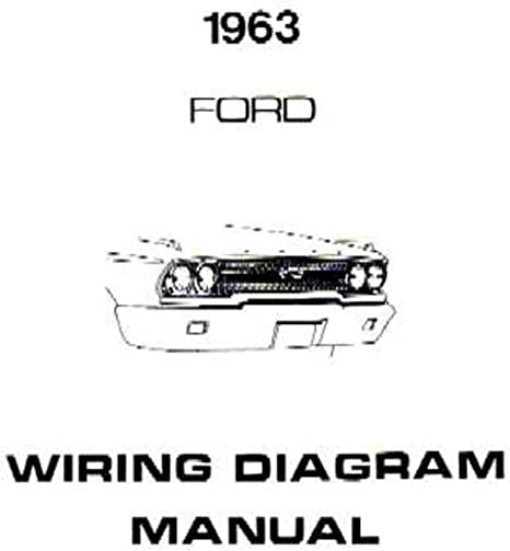 amazon com bishko automotive literature 1963 ford galaxie electrical wiring diagram software auto electrical wiring diagram manual #10