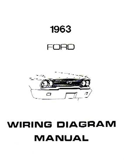 amazon com bishko automotive literature 1963 ford galaxie 1955 Ford Thunderbird Wiring Diagram amazon com bishko automotive literature 1963 ford galaxie electrical wiring diagrams schematics manual book factory oem automotive