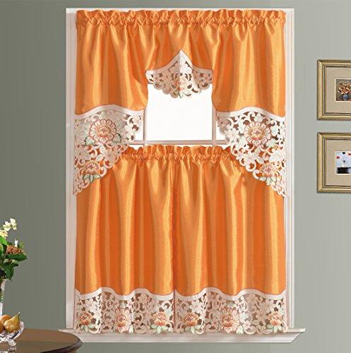 bright kitchen curtains - 1