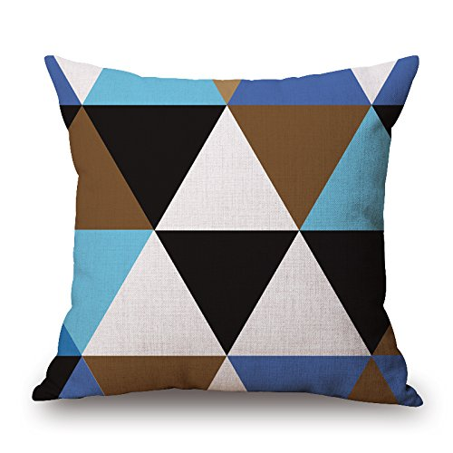 [Alphadecor 20 X 20 Inches / 50 By 50 Cm Geometric Cushion Covers ,each Side Ornament And Gift To Car Seat,drawing Room,kids] (Leo Johnson Costume)
