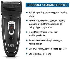 Maquinilla de afeitar eléctrica de la máquina de afeitar de la ...