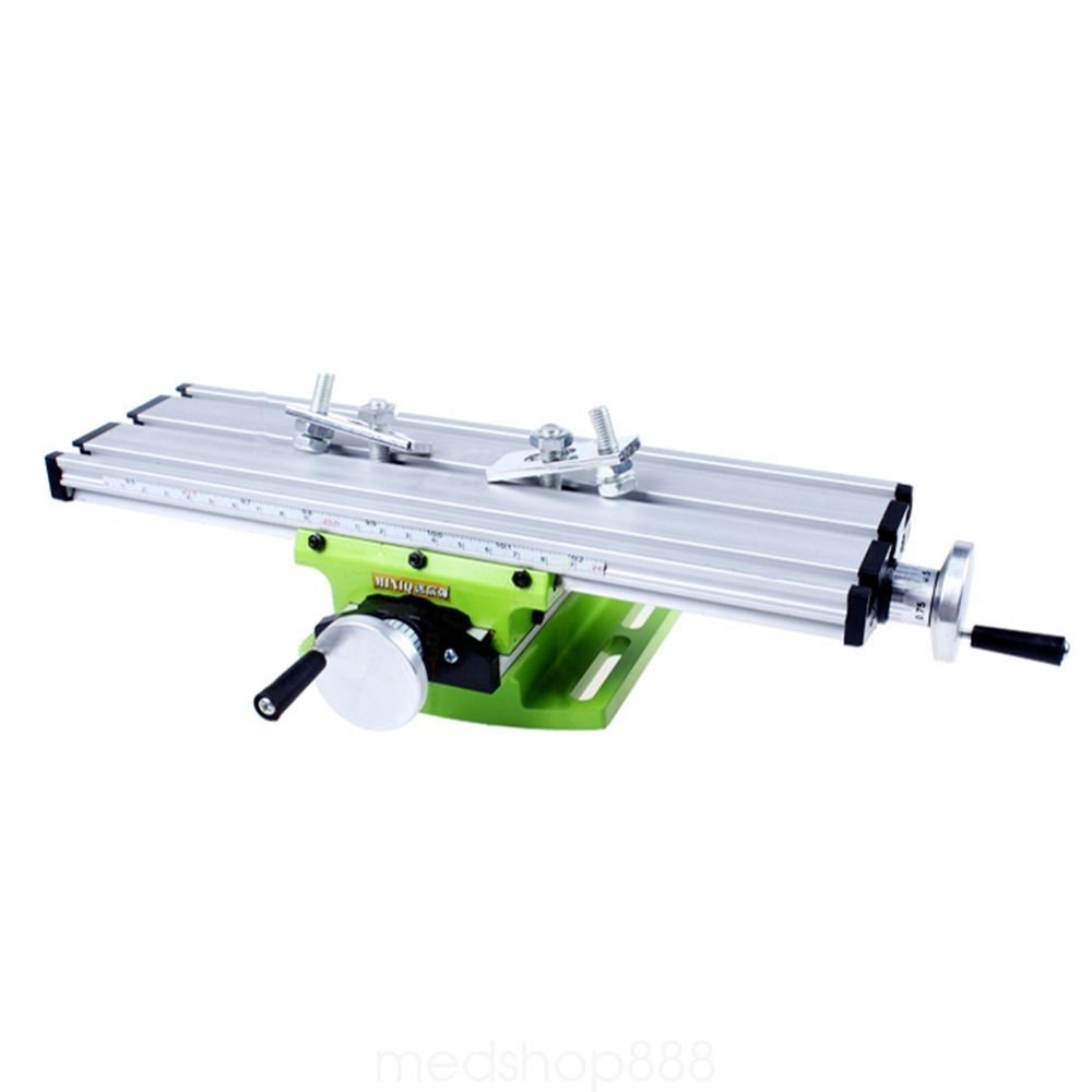 /Mesa para DIY de fresar mesa de trabajo 310/mm Fresadora Compound taladrar trineo taladradora oukaning Tornillo de banco multifunci/ón miniatura trabajo/