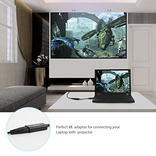 ICZI DisplayPort to HDMI, 4K DP to HDMI Adapter for GTX 750