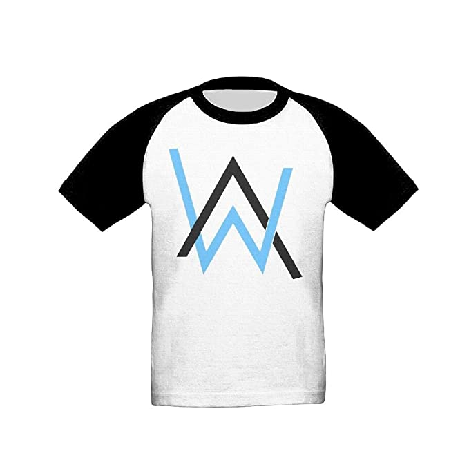 Amazon Addie E Neff Alan Walker Aw Log1o Toddler Short Raglan