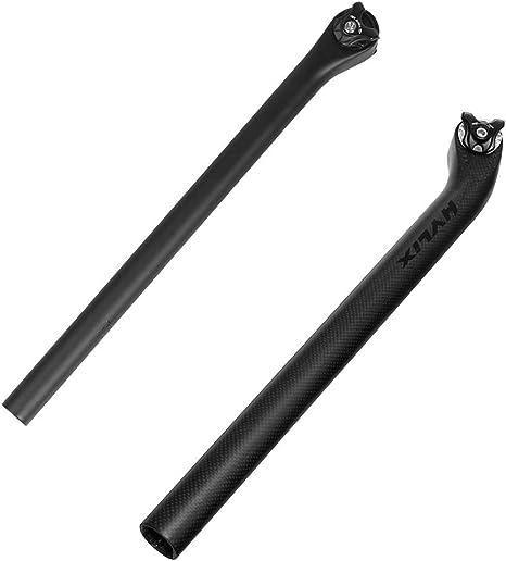 Antrygobin - Tija de sillín de Bicicleta de Fibra de Carbono para ...