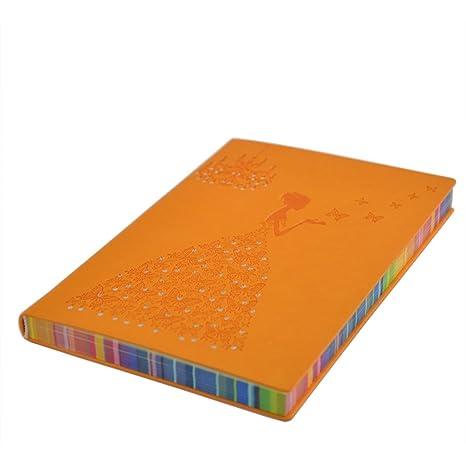 Amazon.com: VIGOROSO - Cuaderno de notas elegante de piel ...
