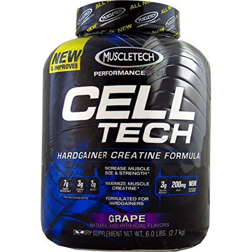 Muscletech Cell Tech Performance Series Powder, Grape, 6 Pounds ( Multi-Pack) by MuscleTech