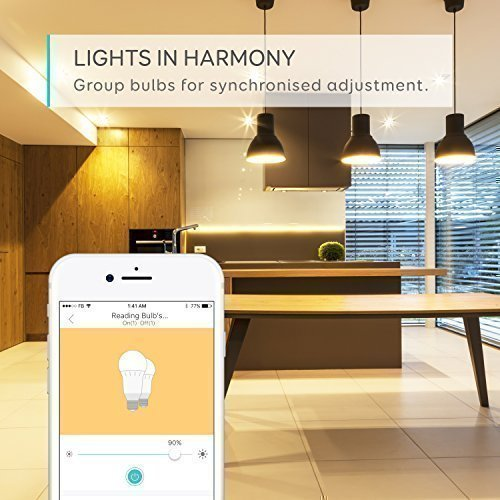 eufy Lumos Smart Bulb by Anker- White, Soft White (2700K), 9W, Works with Amazon Alexa and Google Assistant, No Hub Required, Wi-Fi, 60W Equivalent, Dimmable LED Light Bulb, A19, E26, 800 Lumens by eufy (Image #5)